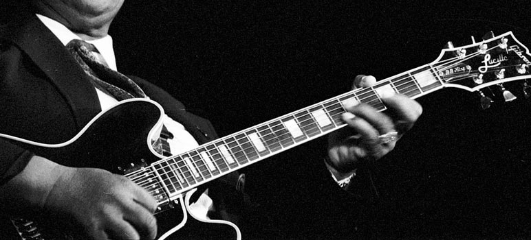 B.B. King's Lucille - Photo by Roland Godefroy