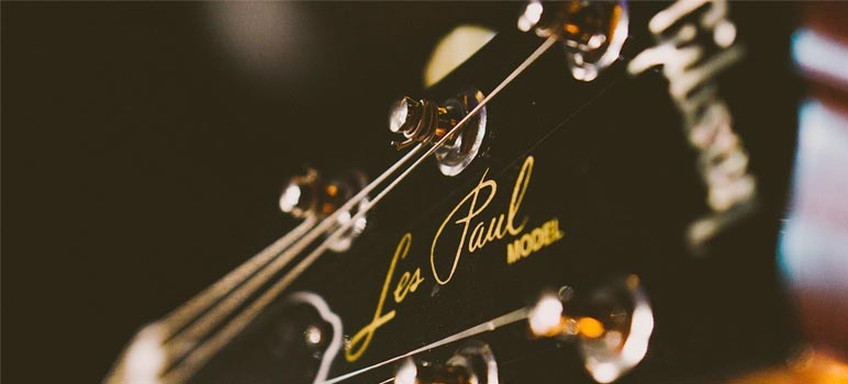 Gibson Les Paul - Headstock