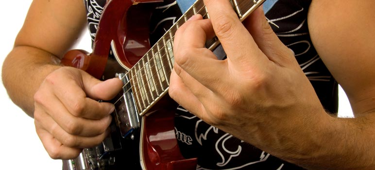 Gibson SG in use