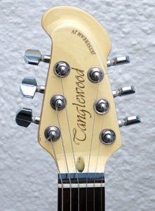 Headstock of my old Tanglewood Jetstream JV